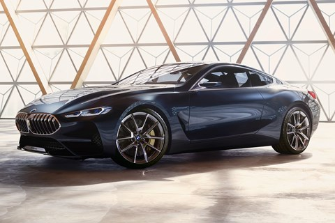 BMW Concept 8-series front quarter studio
