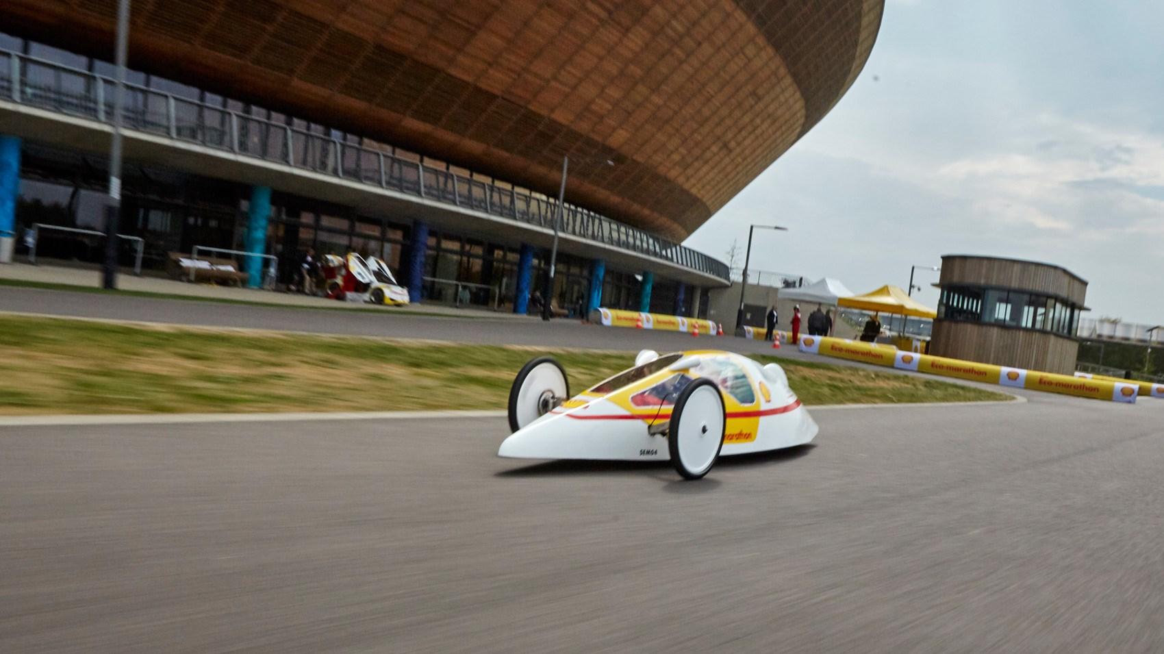 Shell Eco-Marathon prototype front tracking