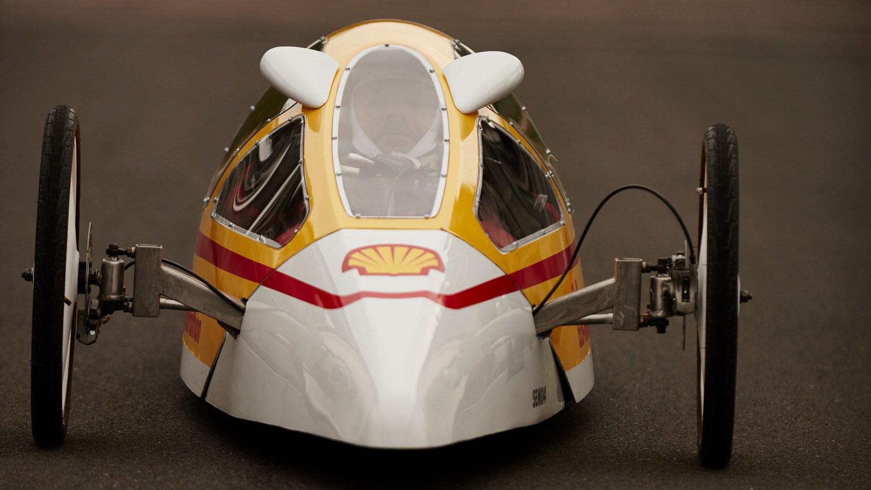 Shell Eco-Marathon prototype front
