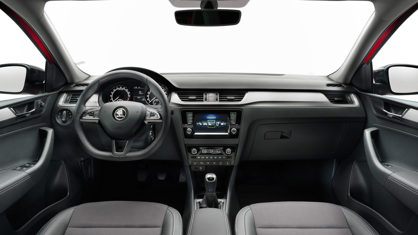 Skoda Rapid Spaceback interior