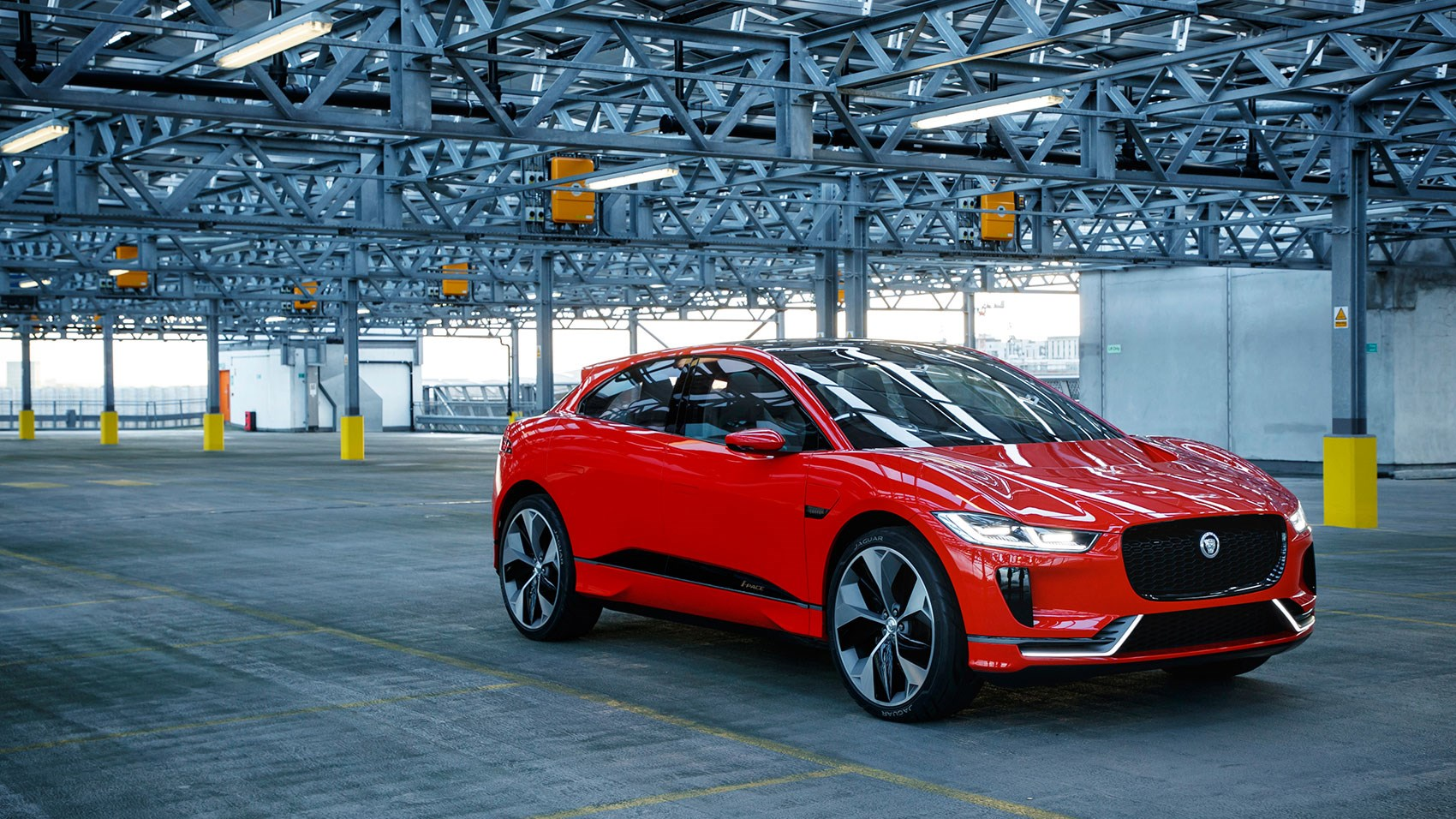 Marvelous Jaguar I Pace Electric SUV ...