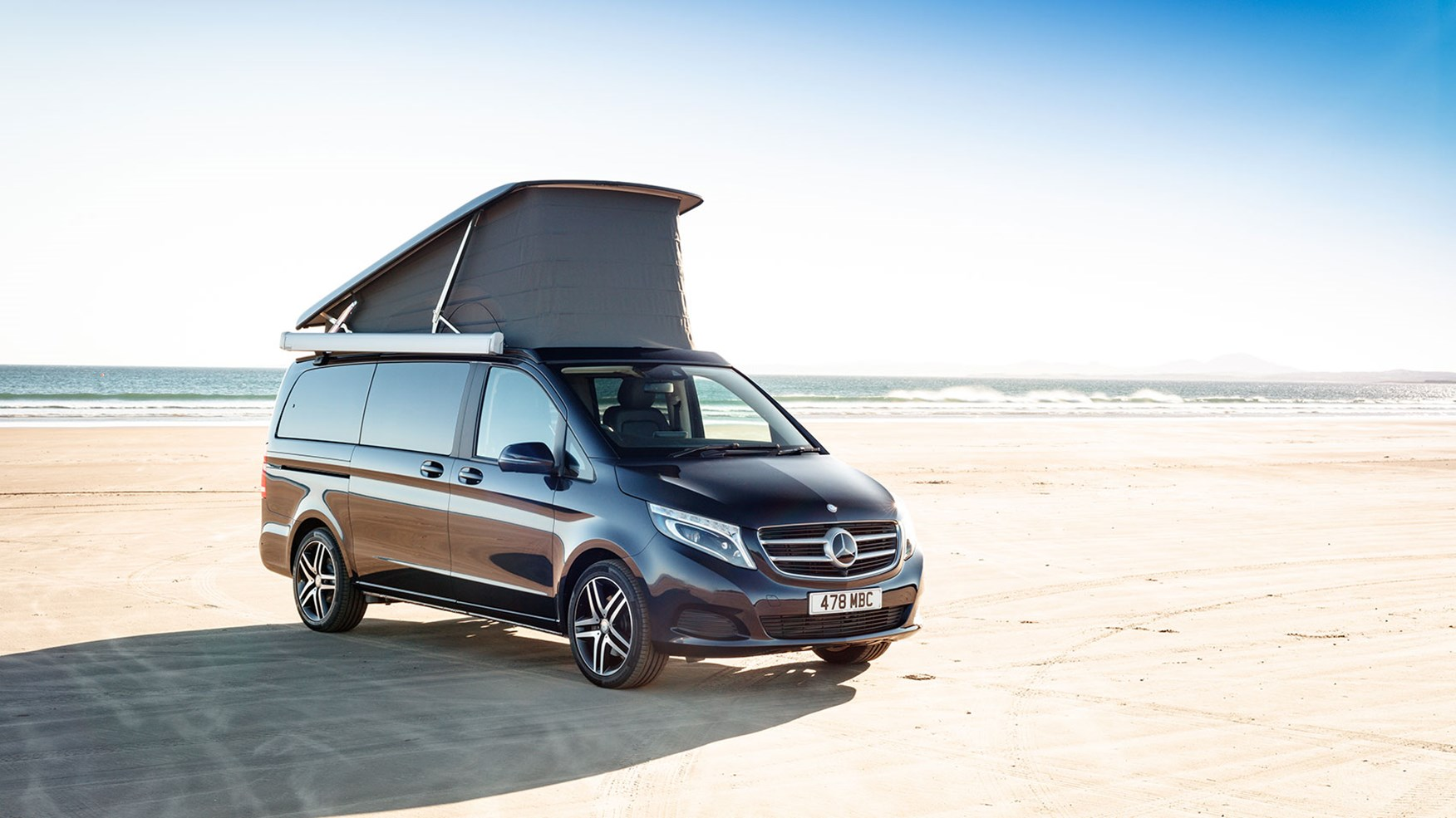 Mercedes Benz V Class Marco Polo 2017 Review By Car Magazine