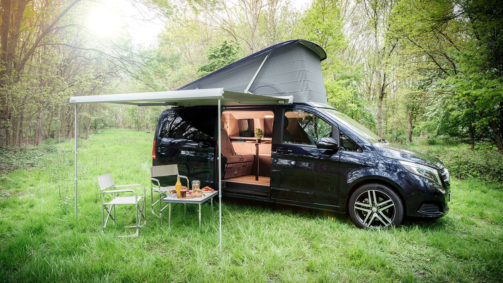 mercedes benz v class marco polo 2017 review car magazine. Black Bedroom Furniture Sets. Home Design Ideas