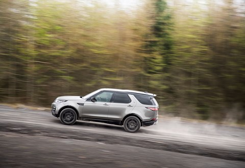 Land Rover Discovery review: cross country