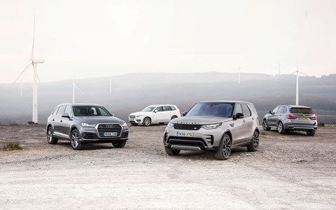 Premium SUV four-way shoot-out: Discovery vs Q7 vs X5 vs XC90