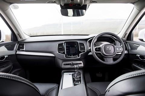 Volvo XC90 cabin