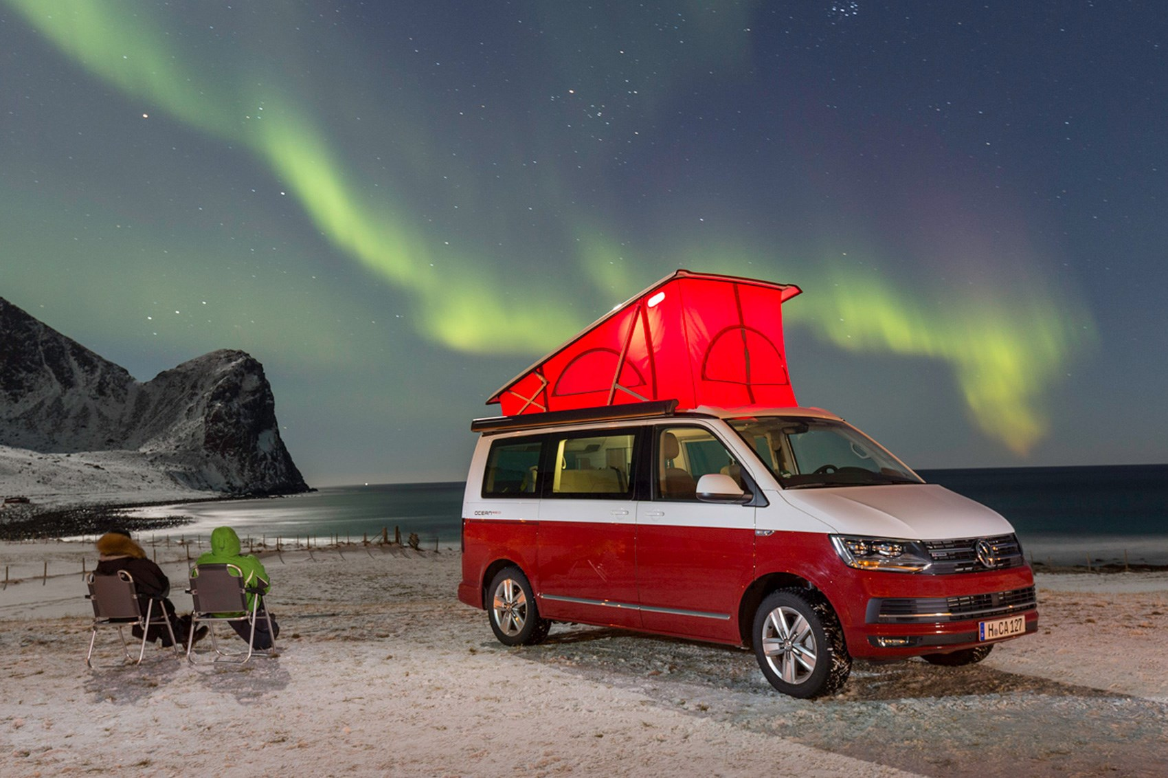 Vw California 2017 Review Camping At The Arctic Circle