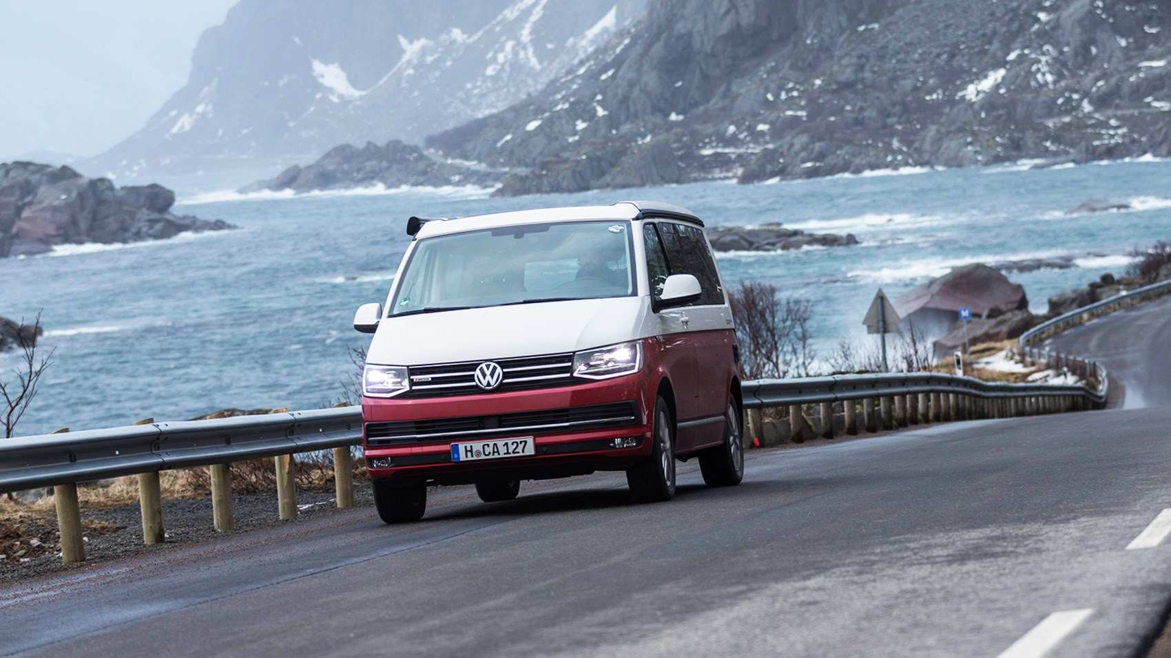 We Take A Road Trip In Volkswagen S Fantastic California: VW California (2017) Review: Camping At The Arctic Circle