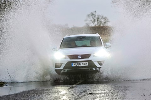 Seat Ateca LTT water spray