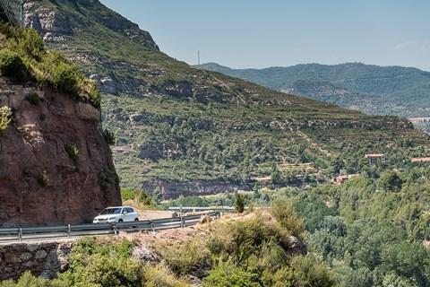 SEAT Ateca Spain hills cornering