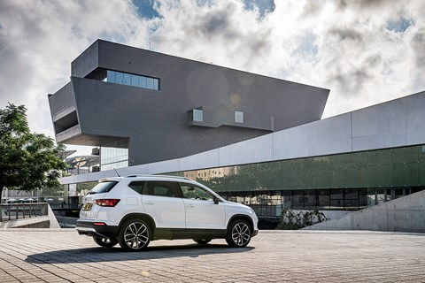 SEAT Ateca Barcelona design centre rear
