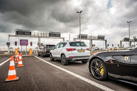 SEAT Ateca Eurotunnel crossing