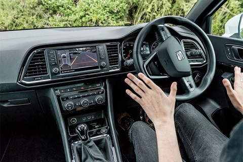 Self-parking in the Seat Ateca