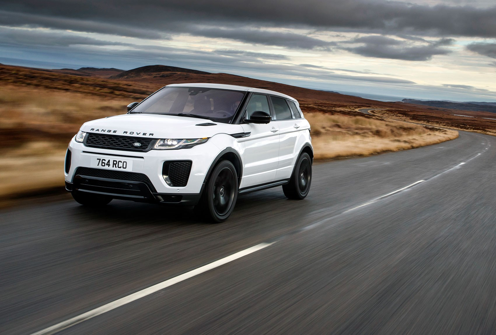 The Newly Updated 2018 Model Year Range Rover Evoque