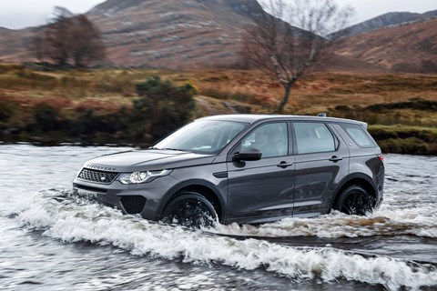 The 2018 model year Land Rover Discovery Sport