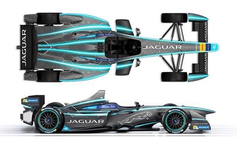 Jaguar Formula E racer