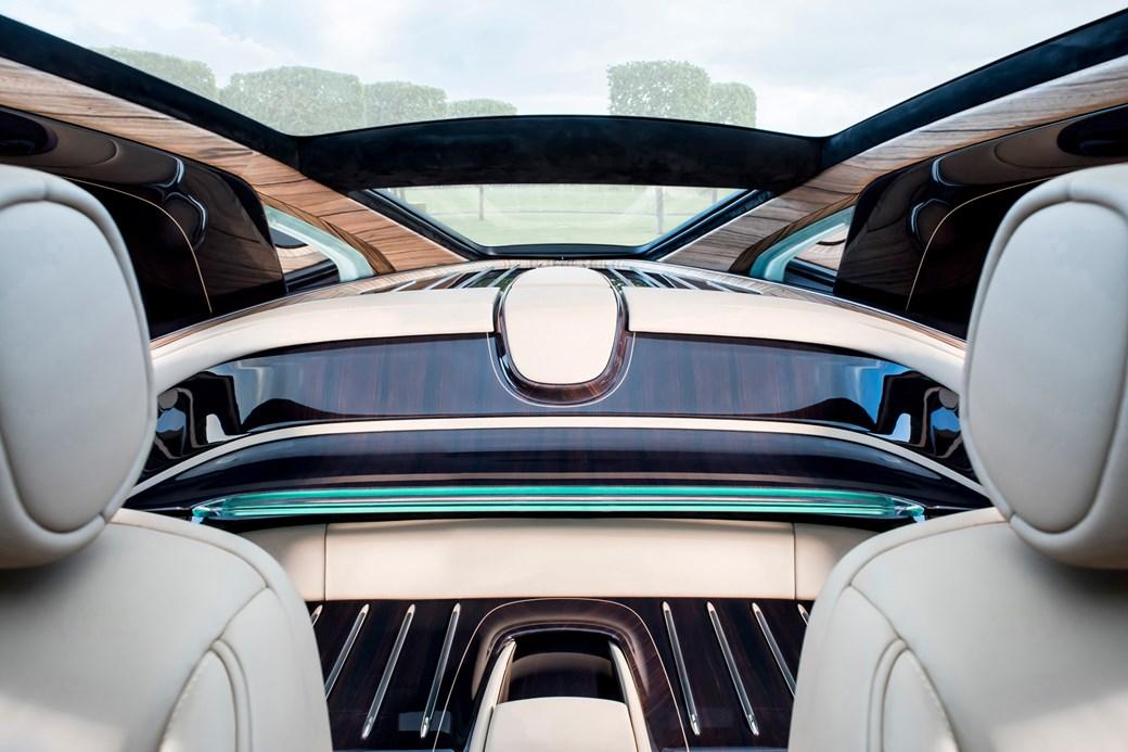 Rolls-Royce Sweptail inner rear deck