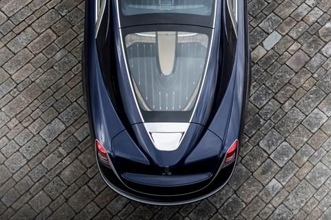 Rolls-Royce Sweptail rear end
