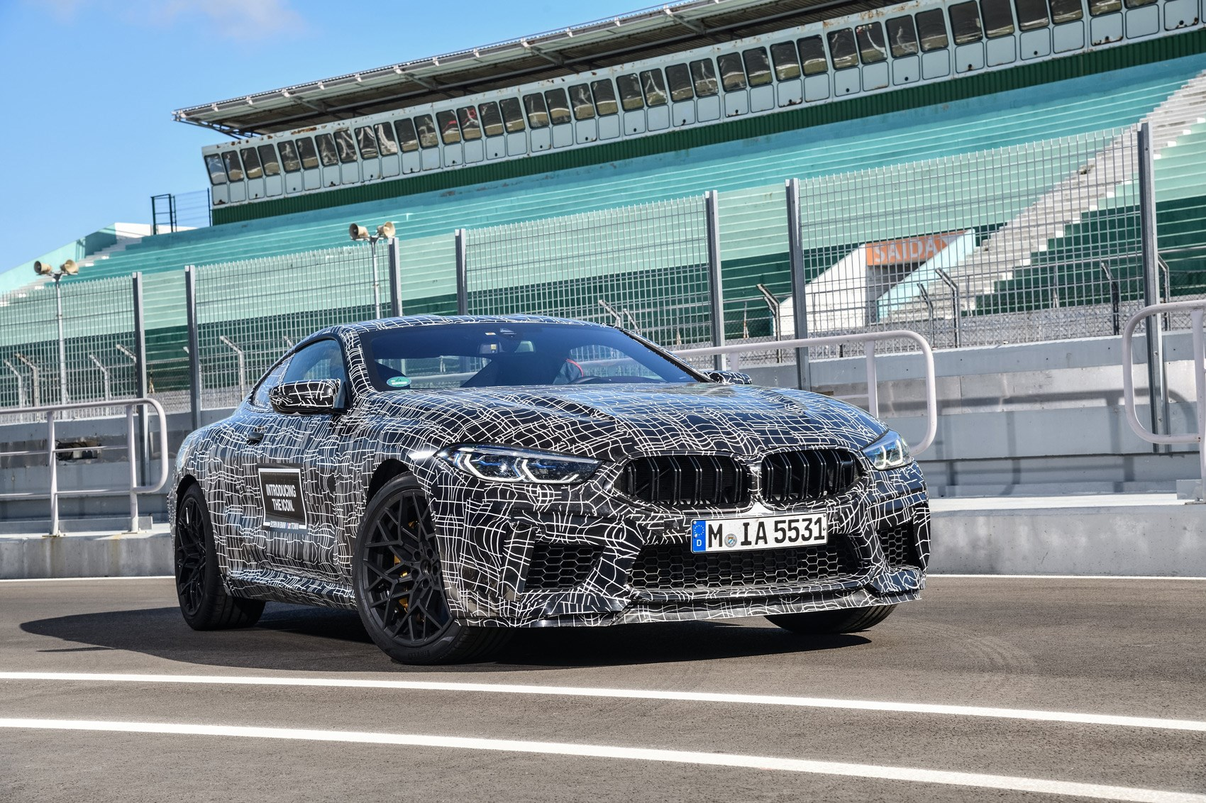 It S Official The New Bmw Concept M8 Gran Coupe Car Magazine