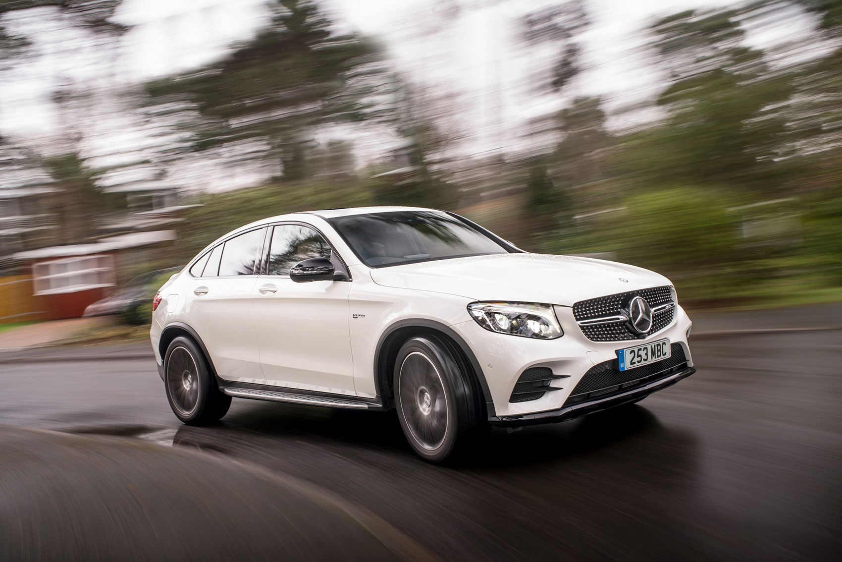 Mercedes amg glc43 4matic coupe 2017 review by car magazine for Mercedes benz coupe models