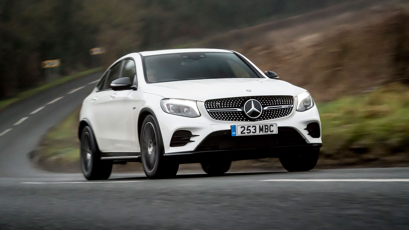 Mercedes Amg Glc43 4matic Coupe 2017 Review Car Magazine