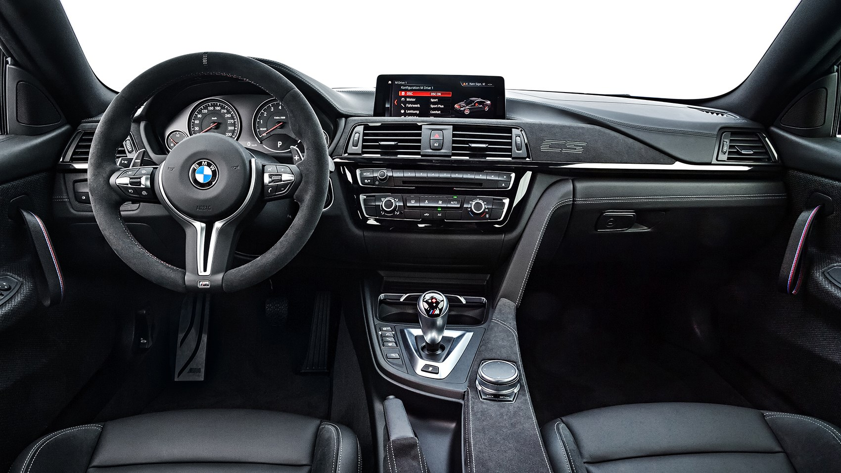 BMW M4 CS interior