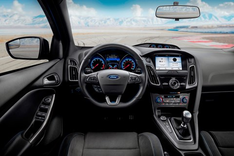 Ford Focus RS Limited Edition interior