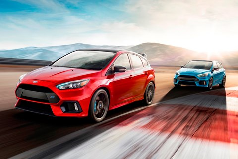 Ford Focus RS Limited Edition front tracking