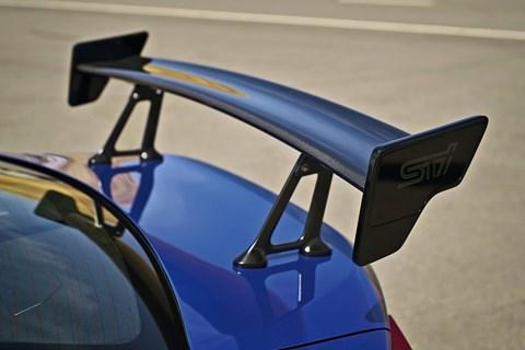 Subaru BRZ tS spoiler