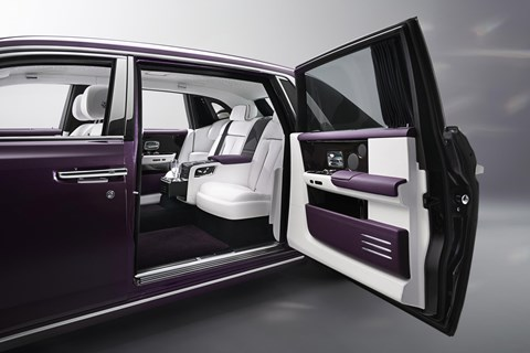 Coach doors larger than ever for new 2018 Rolls-Royce Phantom 8