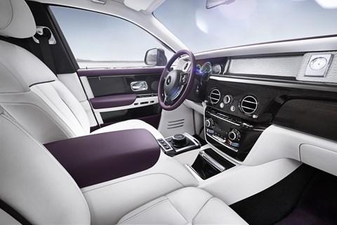 New Rolls-Royce Phantom VIII interior and cabin