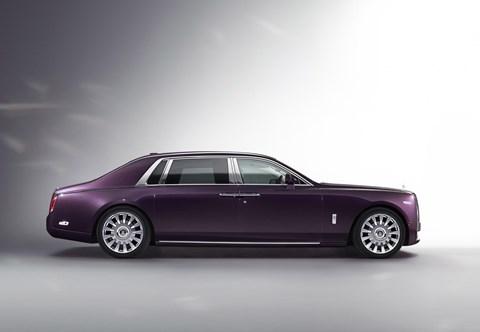 Available as an Extended Wheelbase: Rolls-Royce Phantom VIII LWB