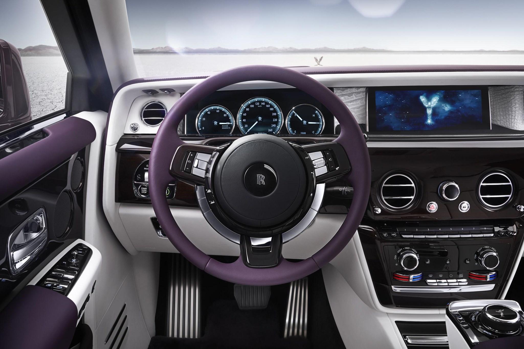 On A Rolls Royce