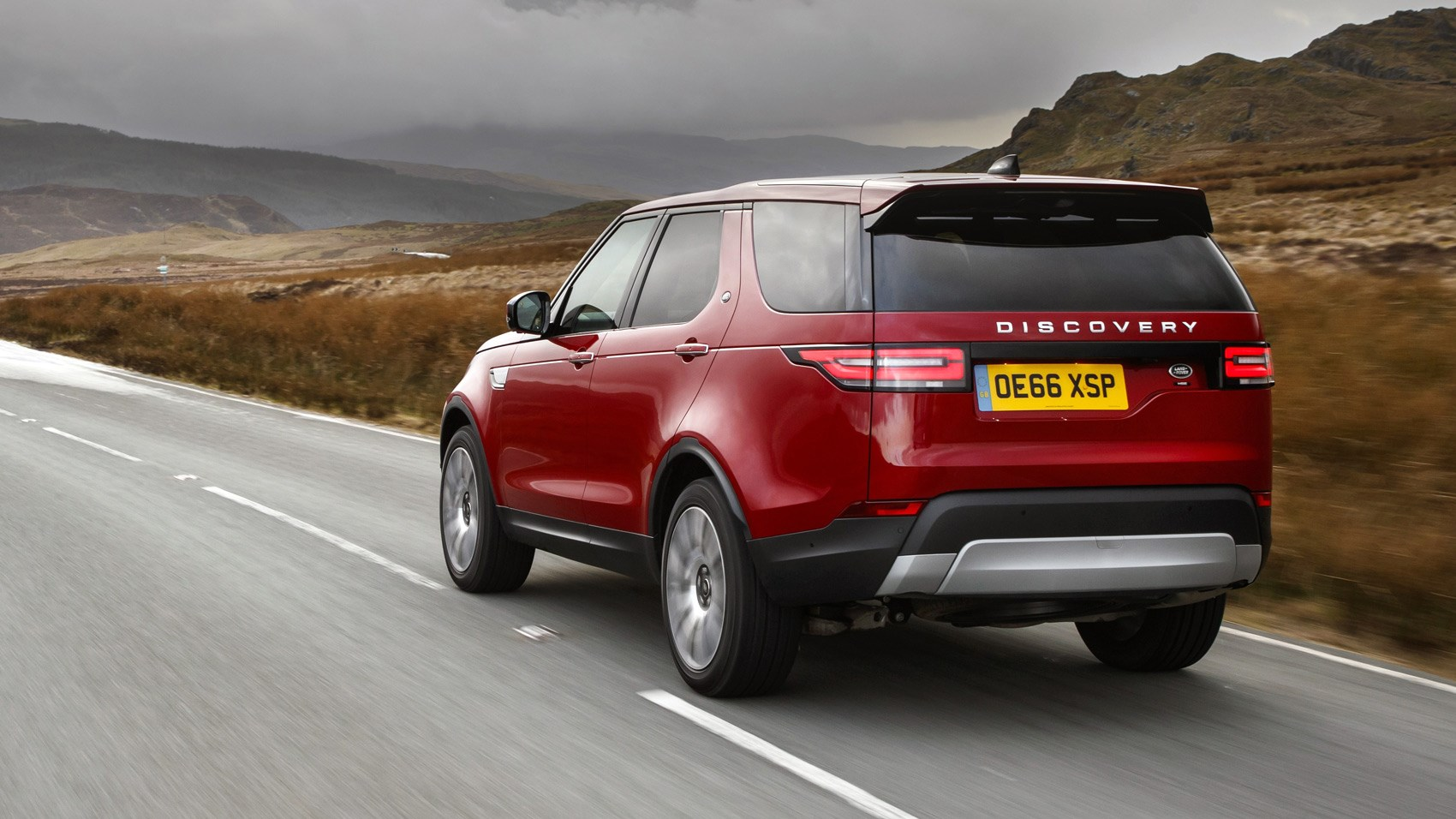 Land Rover Discovery sD4 rear tracking