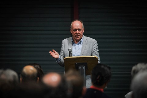 Ian Callum at Coventry University