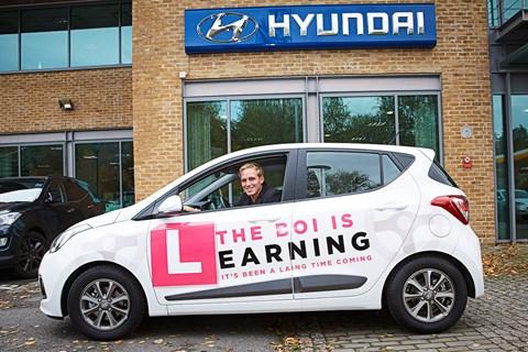 Jamie Laing Hyundai i10