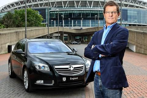 Fabio Capello Vauxhall Insignia