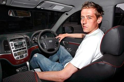 Peter Crouch Hyundai Santa Fe