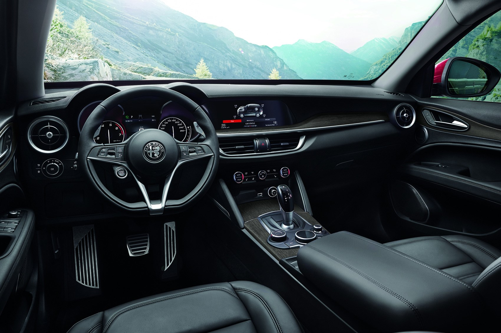 Stelvio Car Magazine Alfa Romeo Steering Wheel