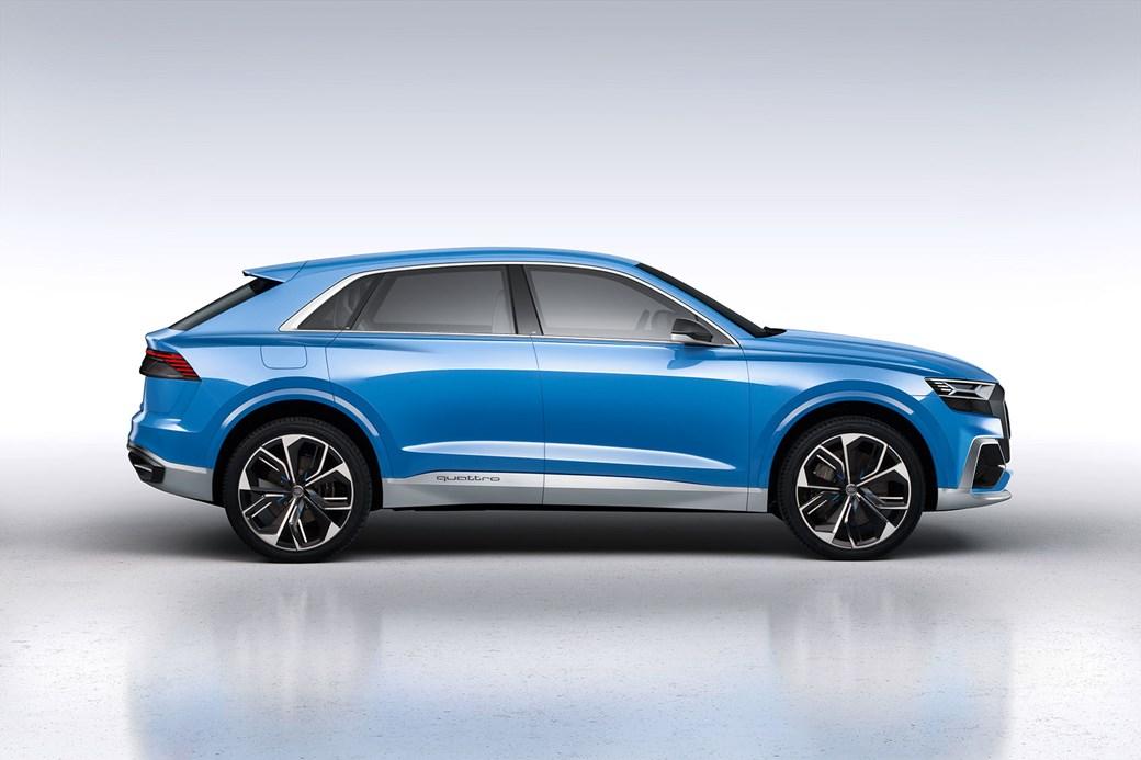 The new 2018 Audi Q8