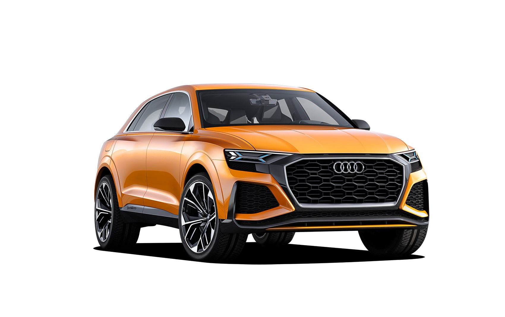 2018 audi electric suv. plain audi 2018 audi q8 is twinned with new a8 inside audi electric suv e
