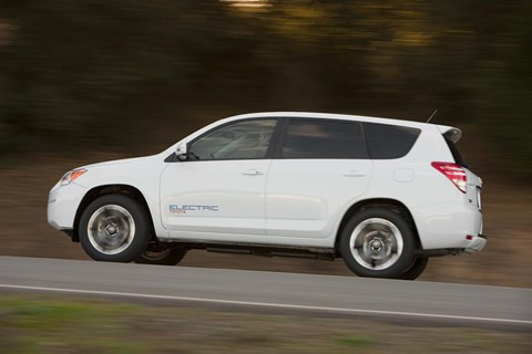 The Toyota RAV4 EV project: Toyota and Tesla collaborated