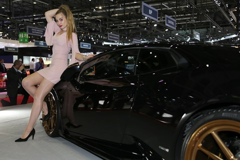 Female models at motor shows: an anachronism?