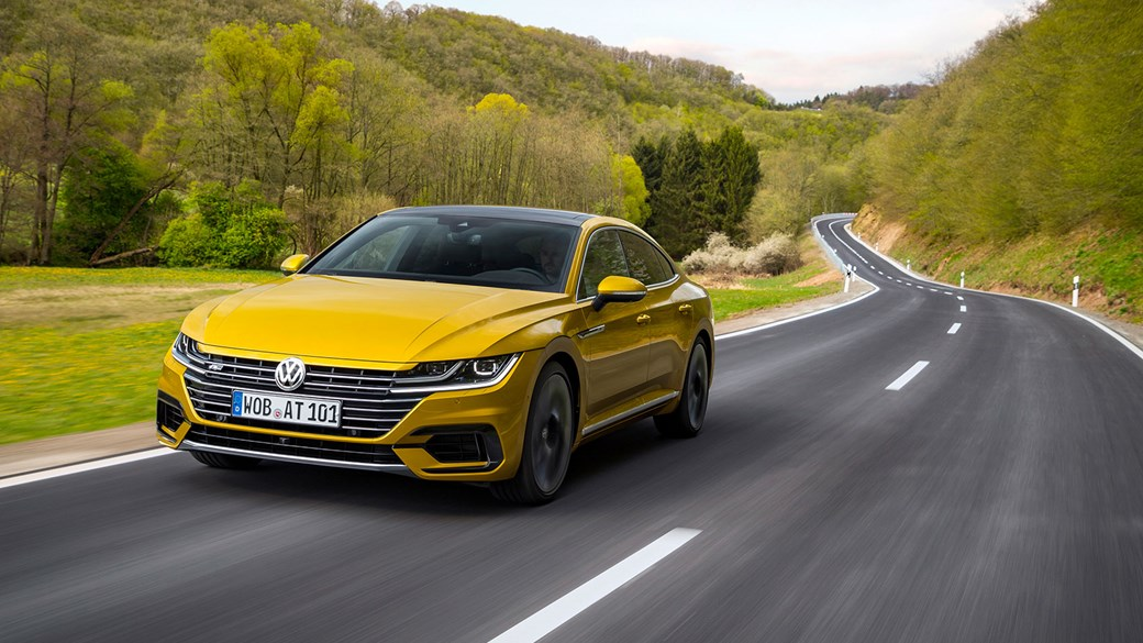 The New 2017 Vw Arteon Review By Car Magazine