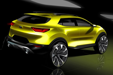 Kia reveals its Stonic small SUV