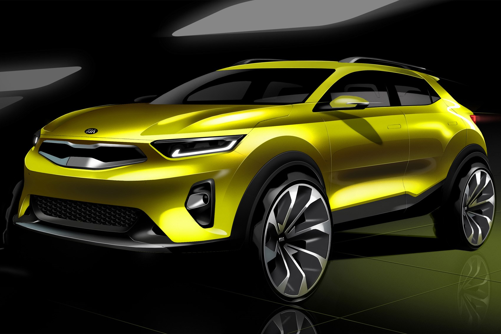 Kia unveils eye-catching new Stonic