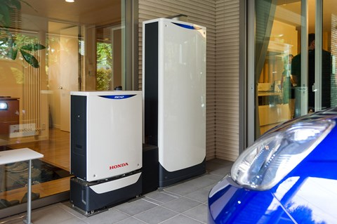 All your energy needs are catered for by Honda Smart Home System