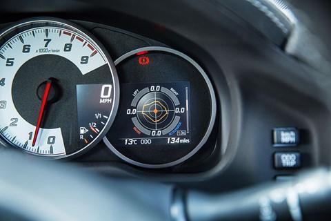 Toyota GT86 g-meter