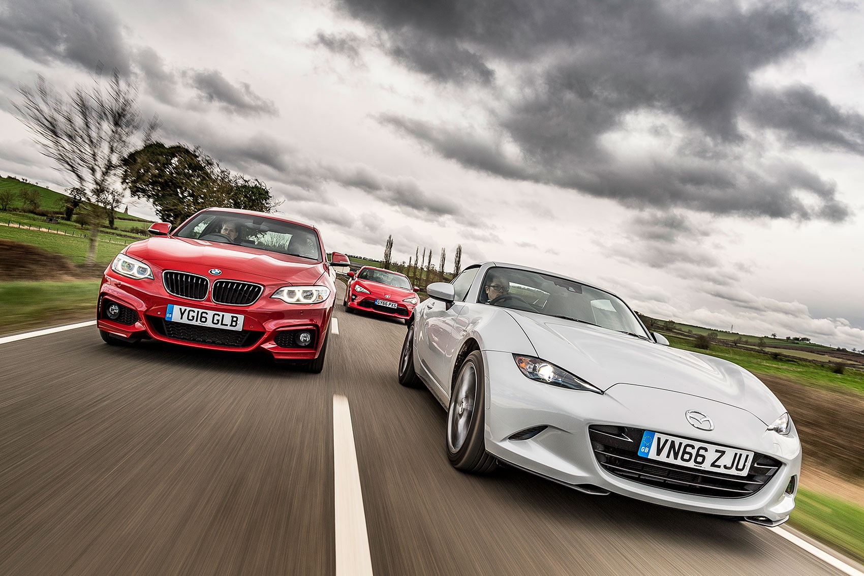 Mazda MX RF Vs Toyota GT Vs BMW Series Coupe Triple Test - Bmw 220i