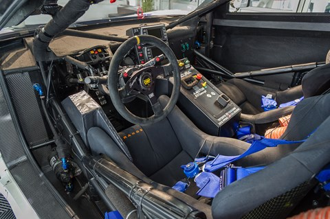 Inside Acura EV concept interior